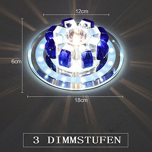 LED cristal plafonnier de style mini citrouille moderne design lampe pour enfants Chambre, Couloir, Cuisine, véranda, de Marche, pour le plafonnier encastré DIMM Bar bleu