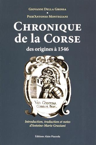 Chronique de la Corse, des origines à 1546