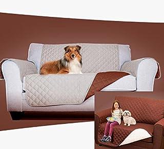 Funda protectora sofa sillon reversible 2 o 3 plazas fino lavable