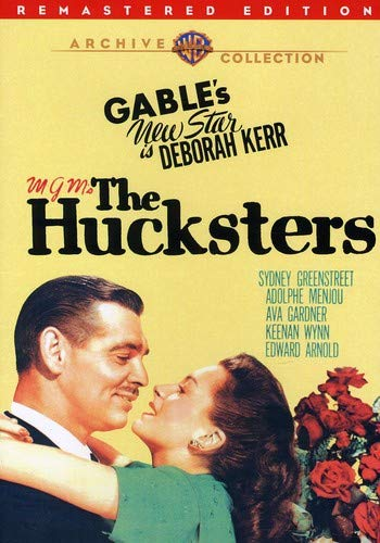 The Hucksters (Remastered) -  DVD, Jack Conway, Clark Gable