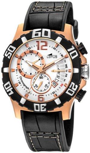 Lotus Freestyle 15535-1 - Reloj de Caballero de Cuarzo, Correa de Piel Color marrón