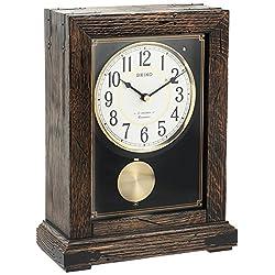 Seiko QXW233BLH Mantel Japanese Quartz Shelf Clock