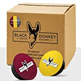 Black Donkey Coffee Roasters - 50 Lavazza A Modo Mio Compatible Capsules