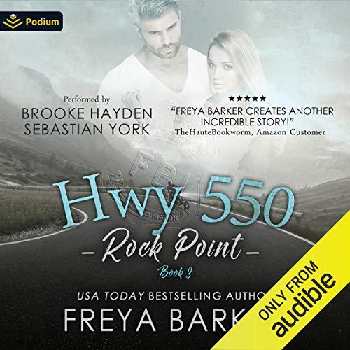 HWY 550 audiobook cover art