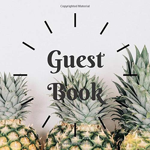 Guest Book Dot Grid (8.5'x8.5' 80 Pages) Suitable for AIR BnB book, Guest Comments Book, Visitors Book, Vacation Home Guest Book, Holiday Home, ... Funeral Ceremony: Classical for any occasion