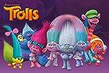 Trolls Characters Maxi Poster 61 x 91,5 cm