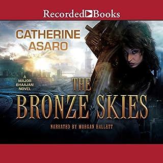 The Bronze Skies audiobook cover art