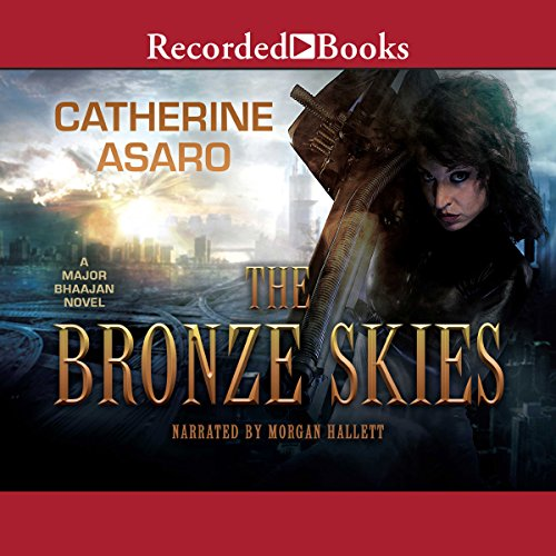 The Bronze Skies audiobook cover art