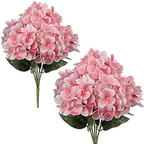 Kunstblume Künstliche Hortensie Blumen...