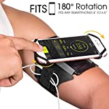 VUP Running Armband for iPhone 11 Pro/11/XS/XR/X/8 Plus/8/7 Plus/6 Plus/6, Galaxy S8/ S8 Plus/ S7 Edge, Note 8...
