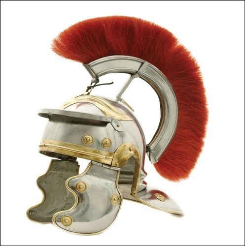 USC Trojan Football Full-size Metal Replica Roman Centurion Helmet