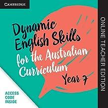 Dynamic English Skills for the Australian Curriculum Year 7 Online Teacher Edition: A multi-level approach