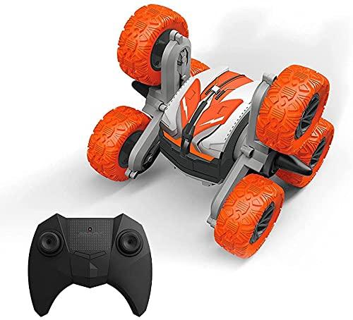 CYLYFFSFC Coche de seis ruedas anti-control remoto coche anfibio de acrobacias 2.4G coche de acrobacias coche de juguete control remoto de seis ruedas vehículo todoterreno carga de carreras a prueba d
