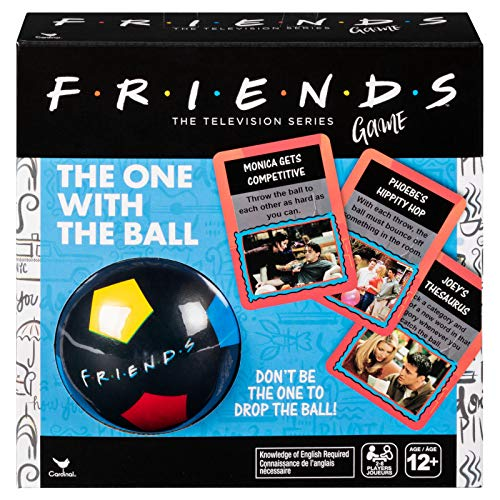 Spin Master Games Friends '90s Nostalgia TV Show, The One With The Ball...