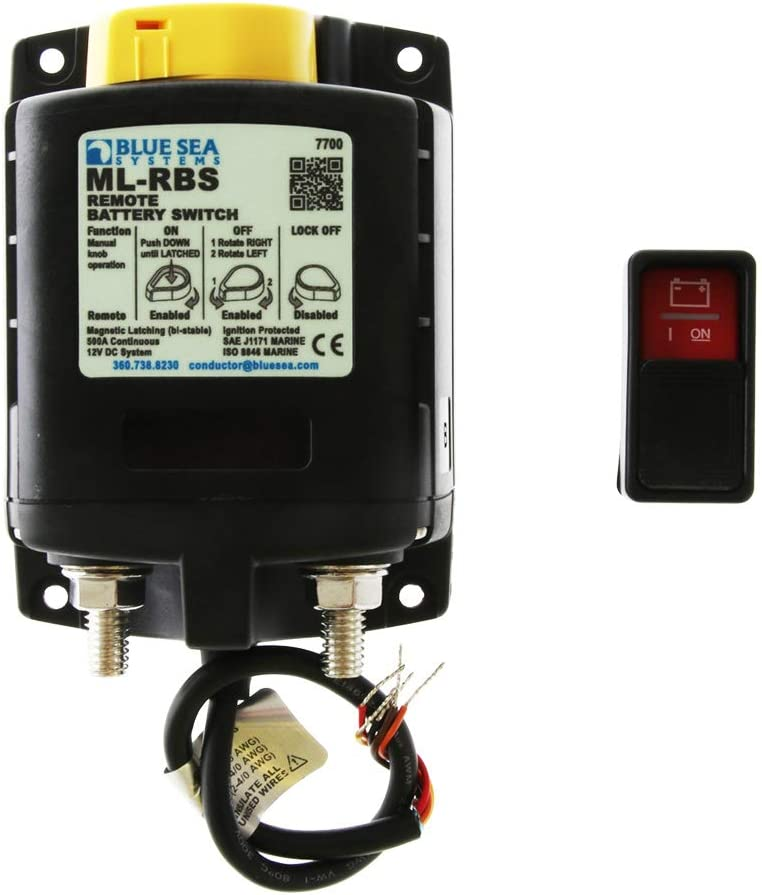 Japan Maker New Blue Sea Wholesale Systems 7700 Ml-Series W Battery Remote Switch
