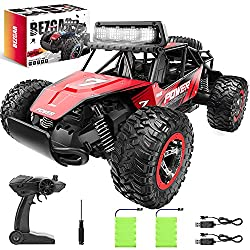 cheap BEZGAR 17 Remote control toy car, 1:14 scale, 2WD high speed 20 km / h terrestrial electric …