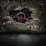 zhongjiany Furchtsames Halloween-Blut-Wundwasser-Transfer-temporäres gefälschtes Tätowierungs-Aufkleber-Make-up(Style02)