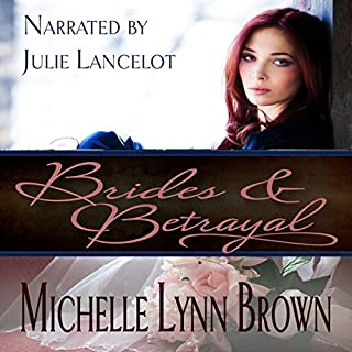 Brides and Betrayal audiobook cover art
