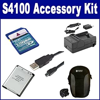 USB5PIN USB Cable ACD788 Battery Accessory Kit Compatible with Synergy Digital Works with Canon XF405-E Camcorder Includes