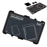 JJC Speicherkarten Etui Leichte Aufbewahrung Schutzhüllen für 10 Micro SD Karten