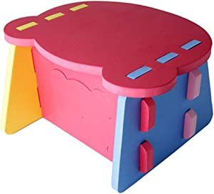 Oureong Kids Desk Baby Play Dining Activity Table,for Home and Garden Kindergarten Collision Small Table Student Desk for Kids Homework (Color : Multi-Colored, Size : Free Size)