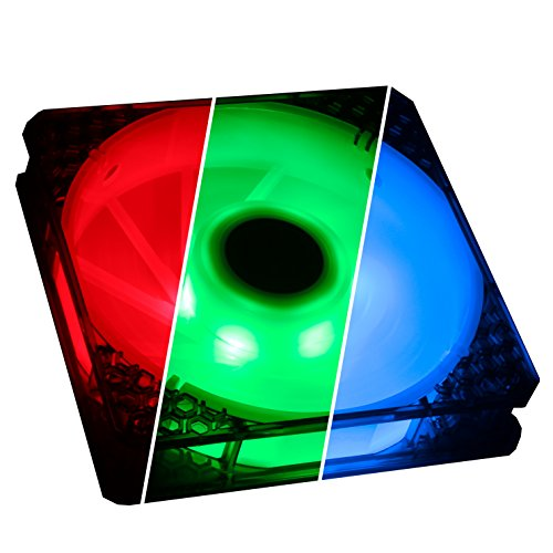 BitFenix BitFenix Spectre Pro RGB LED Case Fan With Controller - 140mm -...