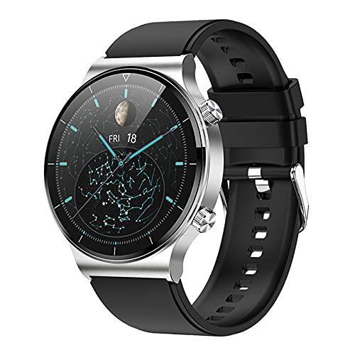 BNMY Smartwatch Reloj Inteligente A Prueba De Agua IP68 para Hombres, Smart Watch 1.3 Pulgadas con Deportes, Ritmo Cardíaco, Caloría, Sueño, Pulsera De Actividad Inteligente con iOS Android,F