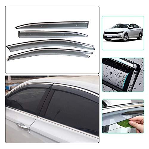 ZLLD Windabweiser Für Volkswagen Für Bora Sedan 2019 2020 Auto Sonnenblende Fenster Visier Regenschirm Für Autofenster Visier Hxjh Hintere Windabweiser