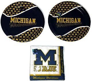 Michigan Wolverines Party Bundle 9
