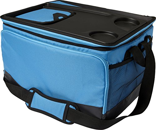 Giving Kühltasche Arktis 33,0 x 44,0 x 27,0 cm Isoliertasche mit Kunststoffdeckel Thermo Picknicktasche Plus Entnahmefach