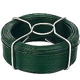 Amagabeli 50M X 1,15 mm X 6 Piezas Bobina de Alambre de jardín Cable de Planta Recubierto de PVC WR8