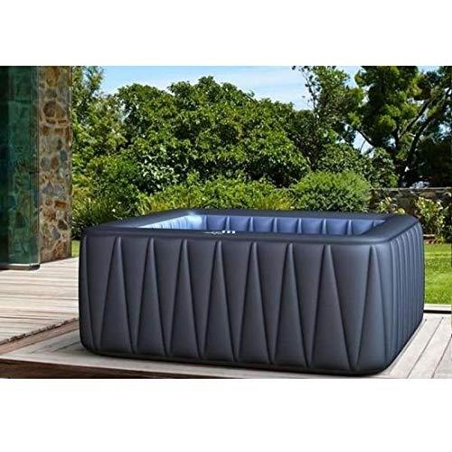 Bagno Italia Minipiscina de hidromasaje 185 cm 5 6 plazas con 132 chorros calentador spa relax jardín Mspa