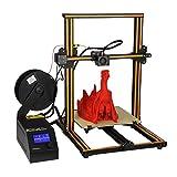 Aibecy Creality CR-10 3D DIY Impresora 300 * 300 * 400 mm Tamaño de Impresión con Marco de Aluminio & Filamento Detector 200 g Filamento Admite PLA/ABS/TPU/Cobre/Madera/Carbon Filament