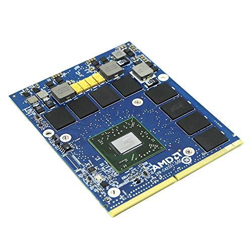 Nueva tarjeta gráfica de vídeo para portátil Dell Precision M6700 M6600 M6800 estación de trabajo portátil, AMD FirePro M6000 GDDR5 2GB MXM VGA placa de repuesto GPU