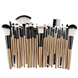 25pcs Pinceles de maquillaje Set Beauty Foundation Power Blush Eye Shadow Brow Lash Fan Lip Face Maquillaje herramienta Brush Kit Maquillage-mi_