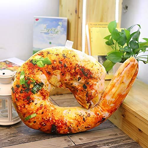 GAOwi 3D Simulation Lebensmittel Form Plüsch Kissen Kreative Huhn Wurst Plüschtiere Gefüllte Sofakissen Wohnkultur Lustige Geschenke für Kinder,D