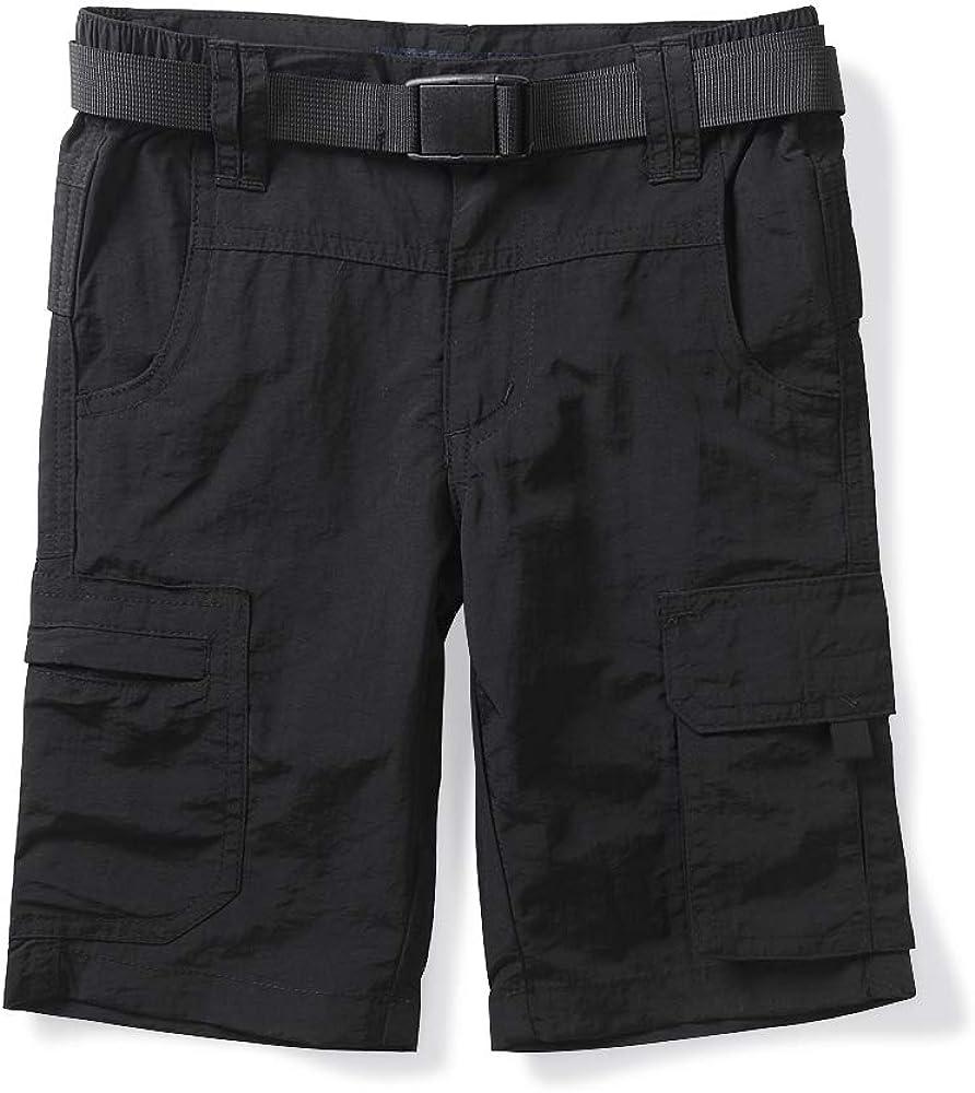 Boys Mens Elastic Waist Cargo Shorts,Youth Casual Lightweight Ou