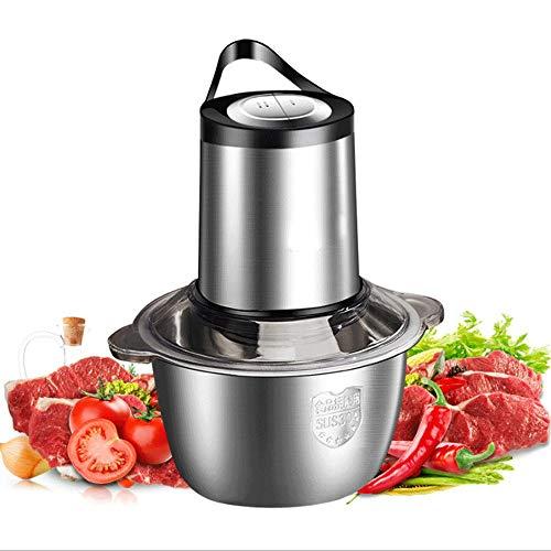 YIBOKANG Amoladora de carne eléctrica, trituradora de procesamiento de alimentos de acero...
