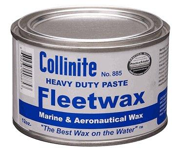Collinite Paste Fleetwax #885, 12 oz - 3 Pack
