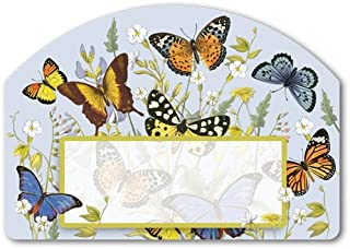 Magnet Works, Ltd. Butterflies Yard DeSign, Screen Printed, Strong-gripping 24 Guage Magnetic Vinyl, Yard or Garden Sign