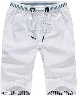 Jianghuayunchuanri Quick Dry Swim Trunks Men Beach Shorts Quick Dry Swim Trunks for Soft The Summer Beach Shorts Elasticat...