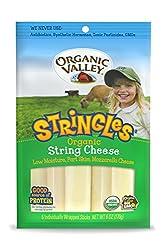 Organic Valley String Cheese,6 oz