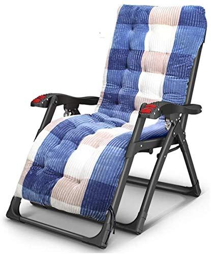 YYZZ Tumbona Plegable Tumbona Sillón reclinable Silla de Viaje portátil Almuerzo Siesta Silla para Mujer Embarazada Silla de Respaldo Jardín Playa Camping Sillón reclinable A-C