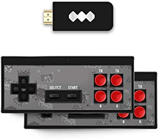 Apostasi Retro Stick USB Wireless Handheld for TV Video Game Durable Video Game Controller Built in 568 Classic Games Mini...