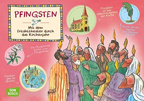 Pfingsten. Kamishibai Bildkartenset. Entdecken. Erzählen. Begreifen: Das Kirchenjahr. (Mit dem Erzähltheater durch das Kirchenjahr)