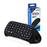 PS4 Controller Keyboard RALAN,PS4 Wireless Mini Bluetooth Keyboard Gamepad Chatpad Message Keyboard for Playstation 4,Slim PS4 Controller/Phone and Tablet