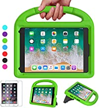 VICVOL iPad Mini 5 4 3 2 1 Case for Kids, Durable Lightweight Shockproof Handle Stand Protective Case with Screen Protector for 7.9-inch iPad Mini 5th/4th/3rd/2nd/1st Generation, Green