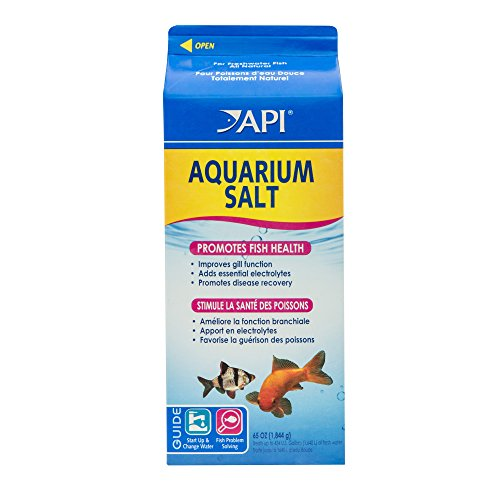 API AQUARIUM SALT Freshwater Aquarium Salt 65-Ounce Box