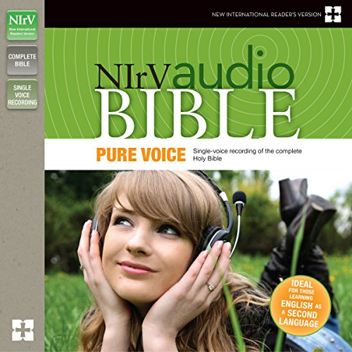 NIrV Audio Bible, Pure Voice audiobook cover art