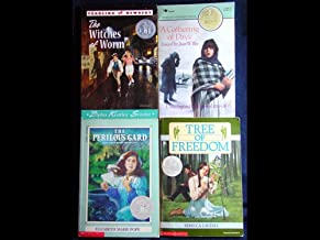 Newbery Honor Set 1 (The Perilous Gard, A Gathering of Days, The Witches of Worm, Tree of Freedom) (Paperback)